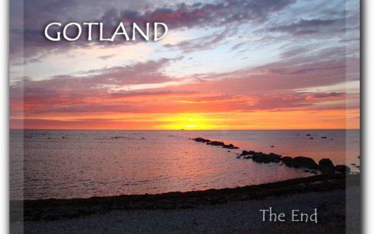 Slutet av sommarsäsongen på Gotland