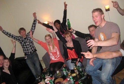 Natten till 17 Maj, Chrisse 18 år och Norge överlägsna vinnare!