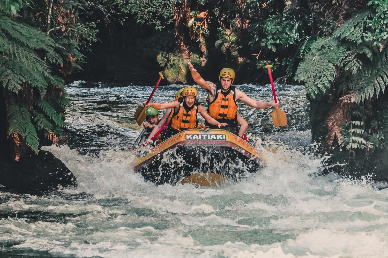 Forsränning i Rotorua - Nya Zeelands bästa rafting äventyr
