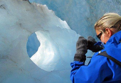 Glaciärvandring i Franz Josef