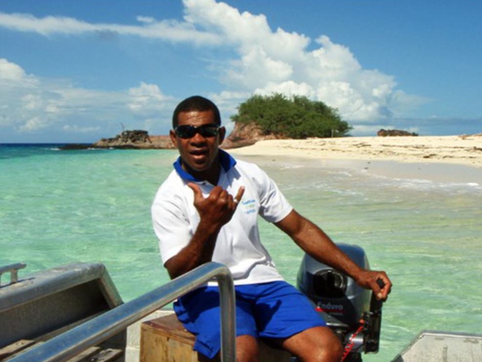 Segling till Castaway Island