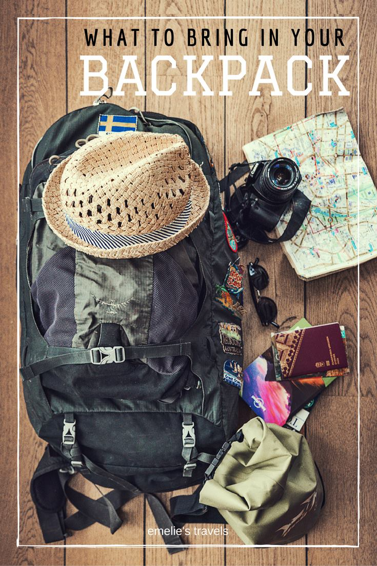 WHAT TO BRING IN YOUR BACKPACK | This is an article about all my tips and tricks that I can think of to tell you, this is the guide that I wish I had read before I started my own journey | Backpacking in Australia