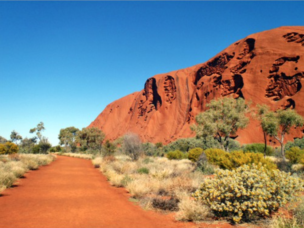 Uluru – a World Heritage Area