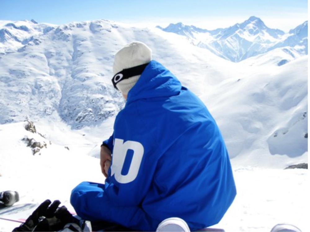 Skidsäsongen i Alpe d'Huez i bilder