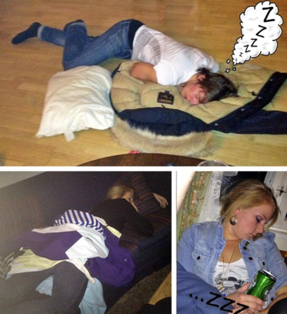 Extremt trötta i Hemsedal