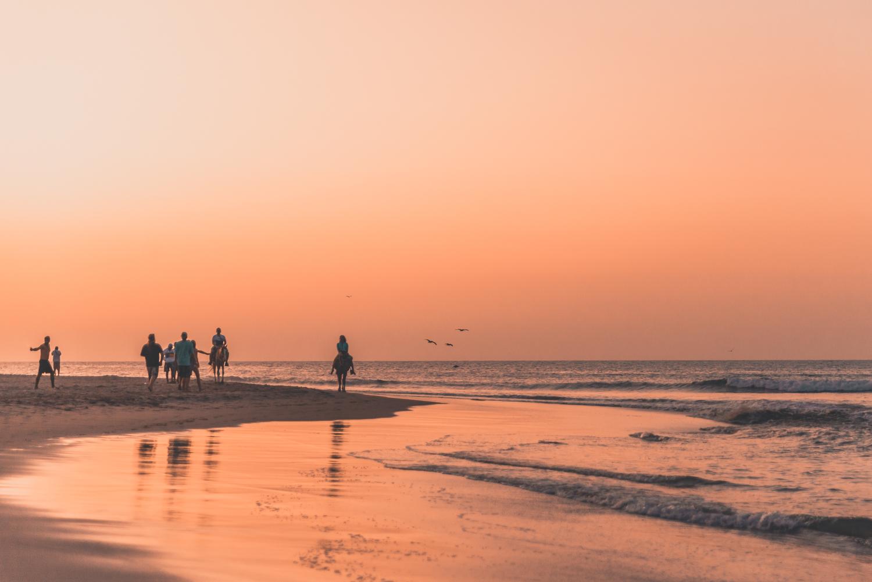 Festligheter i beach-staden Máncora