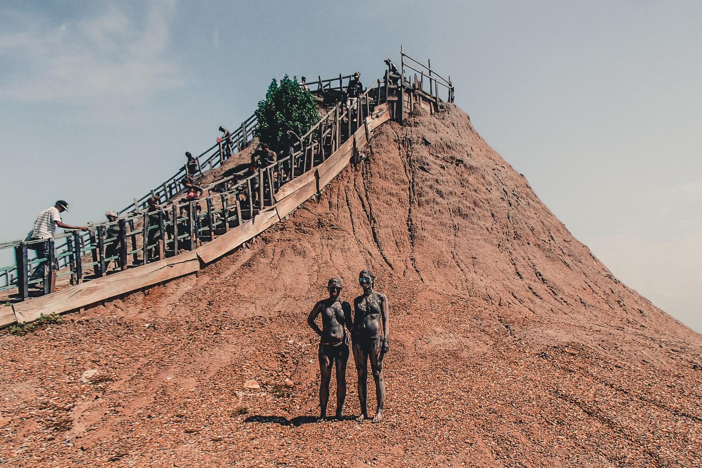 Lerbad i Totumo Mud Volcano - en märklig upplevelse