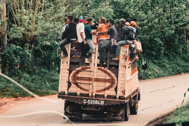 Cobán till Flores - om att transportera sig i Centralamerika