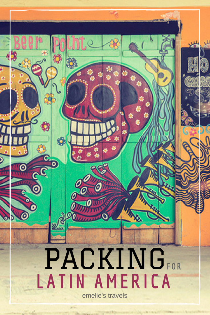 Packing for Latin America | Packinglist for Central America | How to pack for South America | Backpacking guide | How much it costs in South America