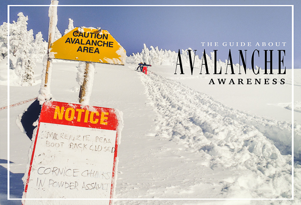 The guide about avalanche awareness