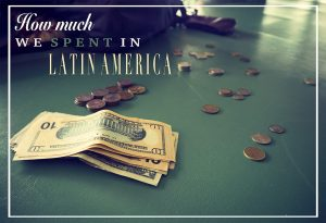 How much we spent in Latin America