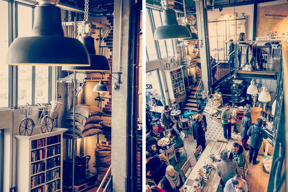 Kaffeerösterei Brügmann in Hamburg