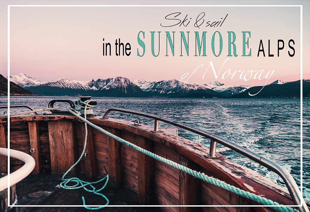 Ski and sail with Fjord Adventures