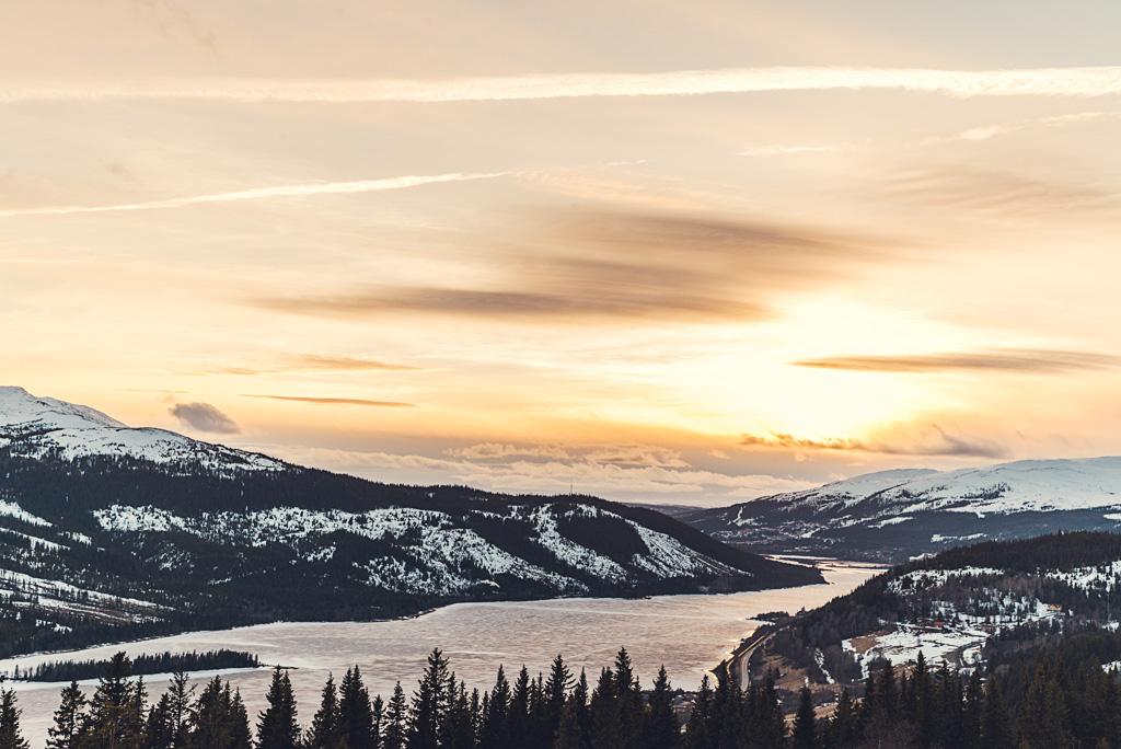 Nysnö och slush i Åre