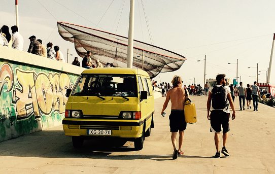 Surfing i Porto