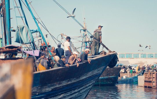 Fiskebyn Essaouiera