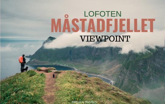 The guide to Værøy –Måstadfjellet viewpoint