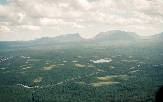 Lapporten och Trollsjön i Abisko Nationalpark