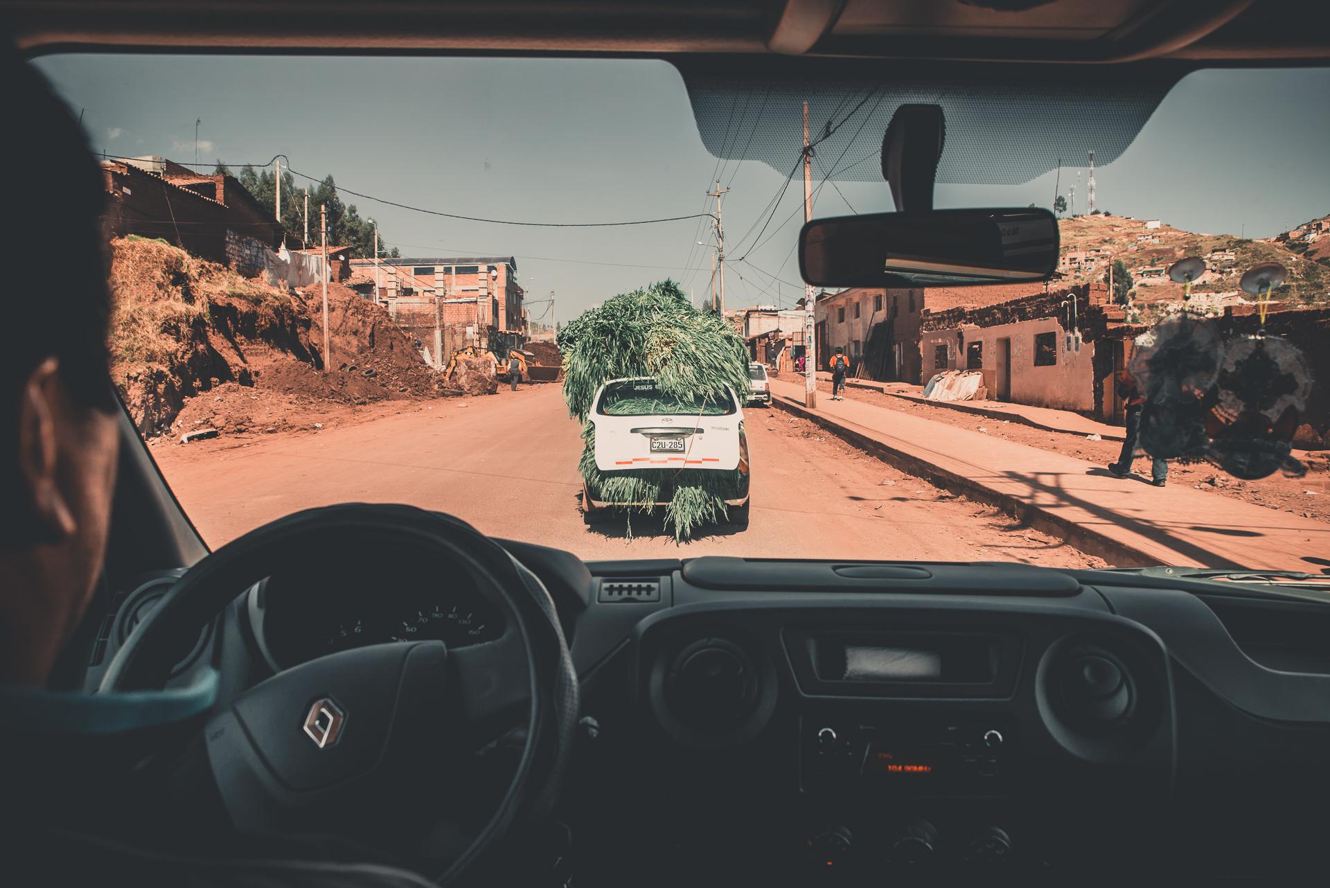 Om att transportera sig i Sydamerika