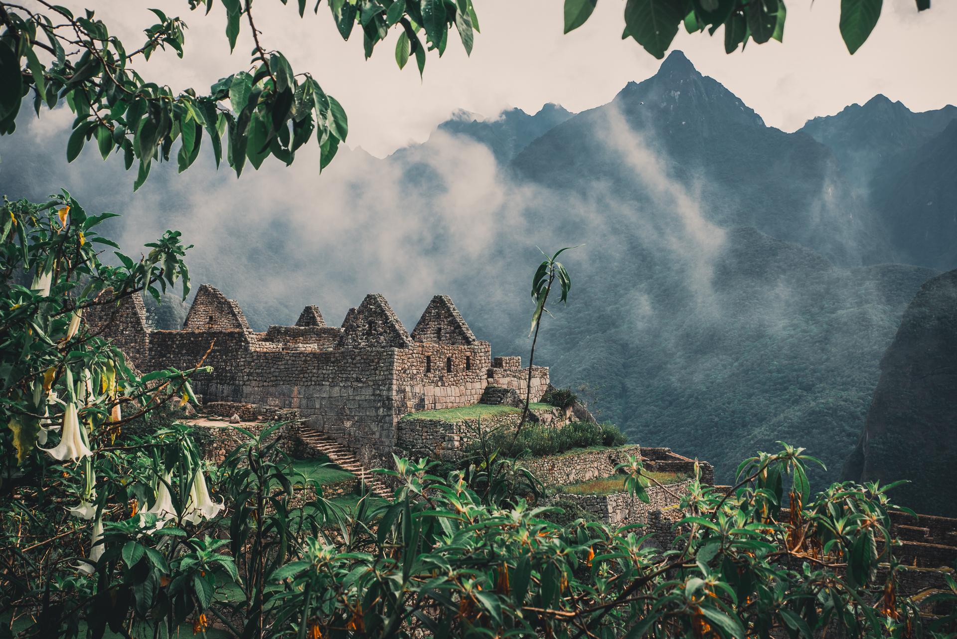 Den försvunna staden Machu Picchu - ett av världens sju underverk