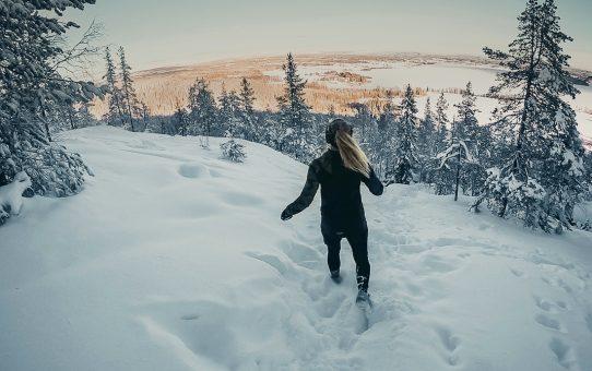 Vinterlöpning i Tavelsjös Narnia