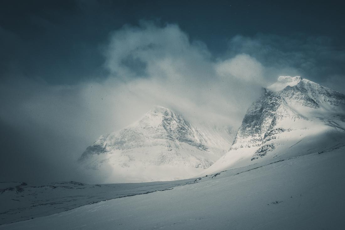Bestig Kebnekaise vintertid via Östra leden – med splitboard och randoneeskidor – Del 2