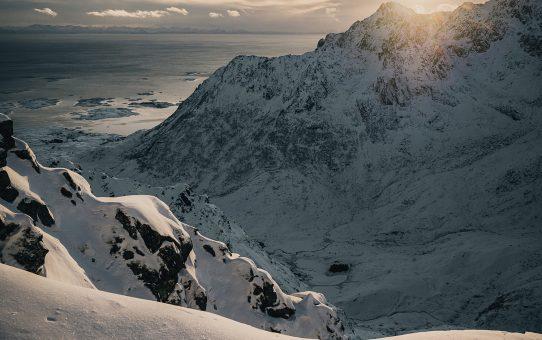 Topptur till Blåtinden 604 möh på Vestvågøy, Lofoten