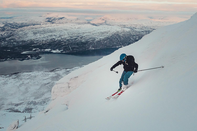 Topptur på Narvikfjellet i November